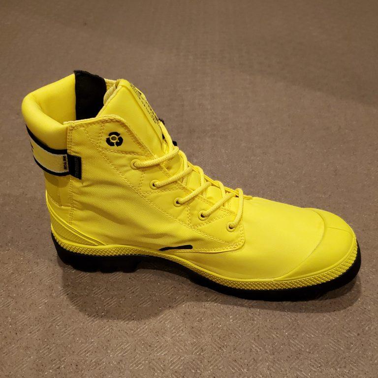 【靴】【パラディウム】エヴォ ライト プラス リサイクル ウォータプルーフ プラス購入 レビュー
