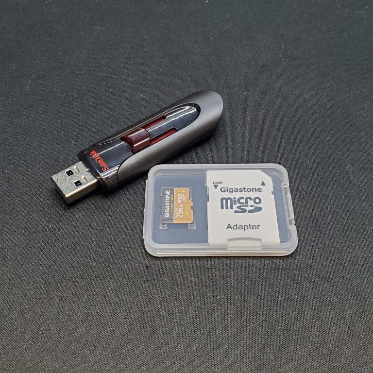 【備忘録】案外簡単!64G以上のFAT32のフォーマットの方法。