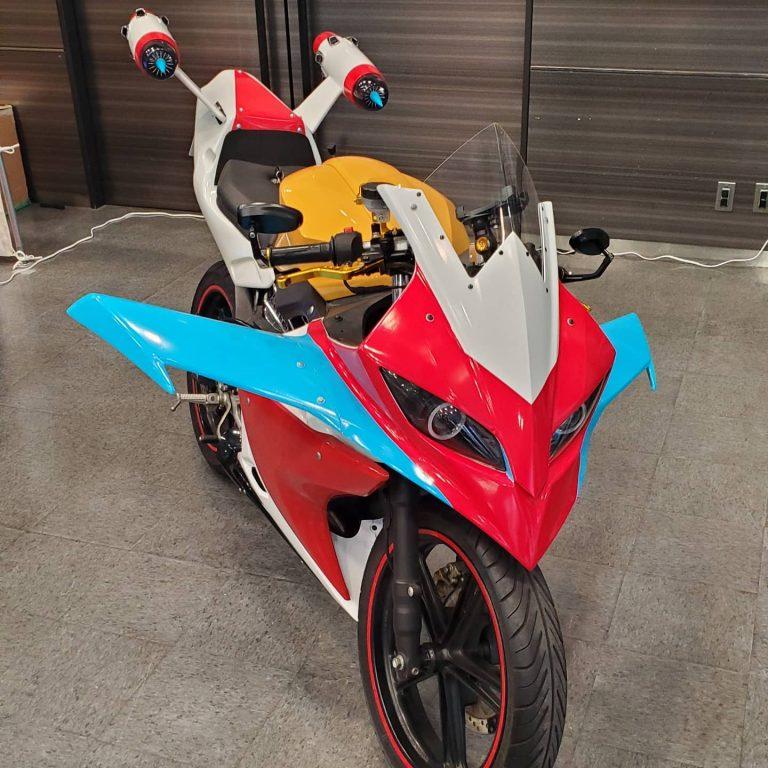 【バイク】勇者ライディーンのバイク「スパーカー」限定で実車バイクを販売